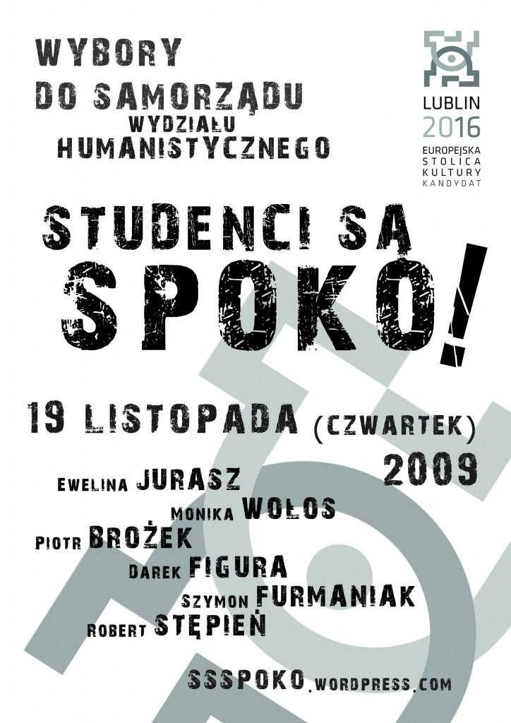 Wybory do samorządu 2009 - Plakat