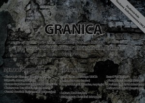 Granica (na ścianie) - Plakat (A3)